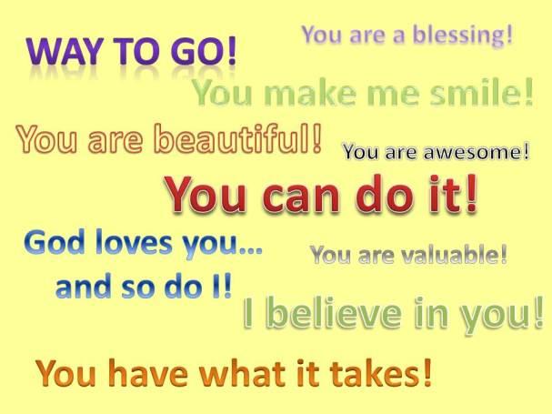 Encouraging-words